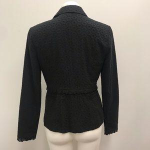 CAbi Jackets & Coats - Cabi Style5293 Flamenco Black Eyelet Blazer Jacket
